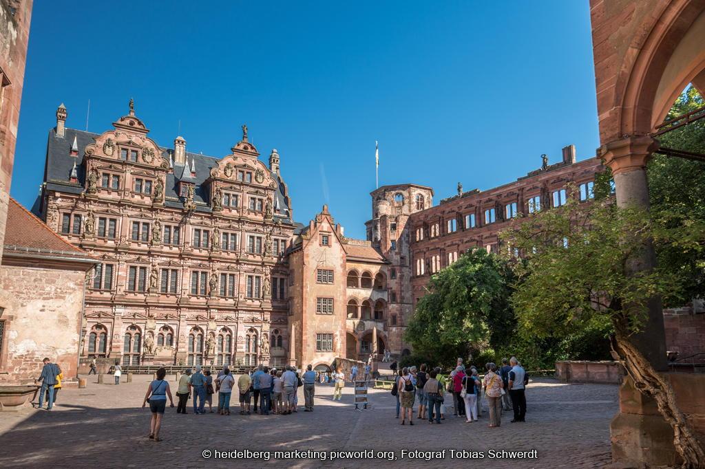 Heidelberg Schloss Innenhof