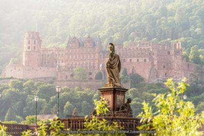 Vista del castillo de Heidelberg