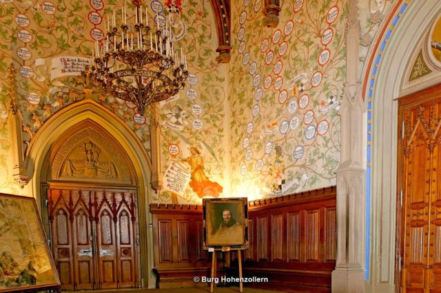 Hohenzollern Stammbaumhalle