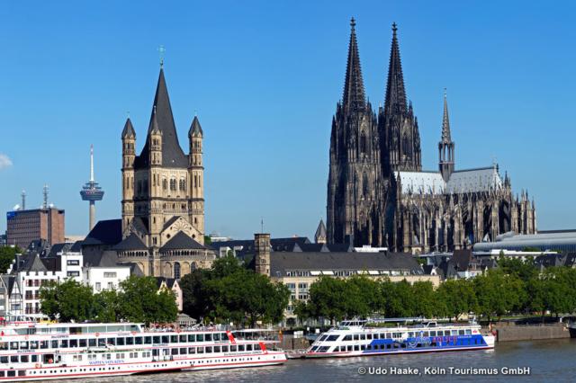Köln Rheinpanorama