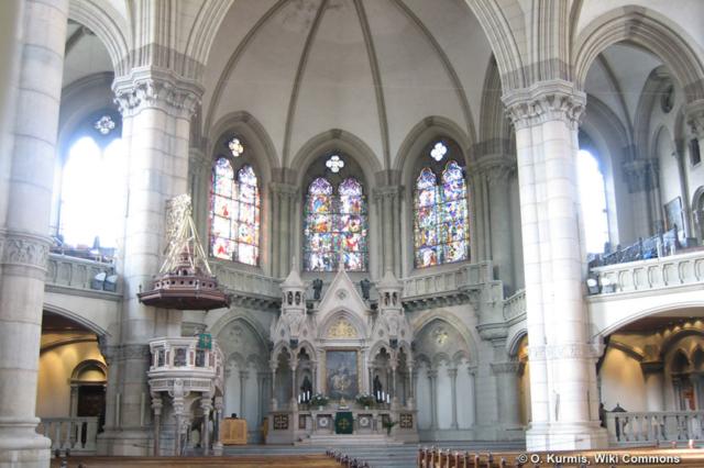 Lukas_Kirche Innenraum