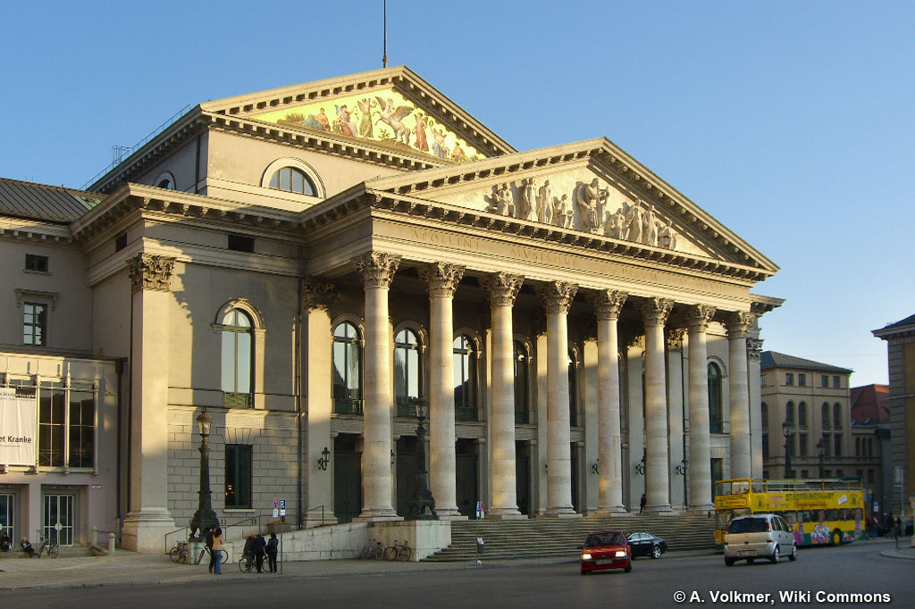 Muenchen Nationaltheater